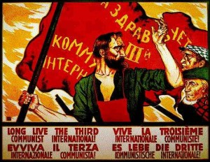 Propaganda Poster for the Communist International