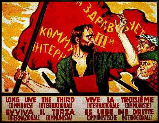 Desființarea Cominternului !