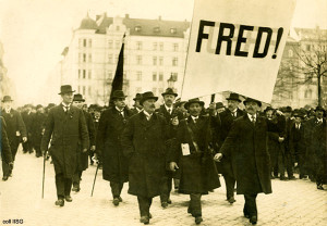 A Call For Peace. May 1 Demonstration in Stockholm 1917