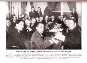 "Congress Presidium, ""First International Congress against Colonialism and Imperialism"", Brussels 10-14 February, 1927"